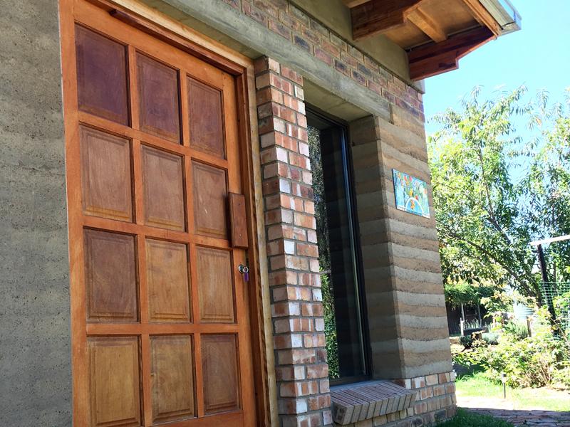 guest house doorway