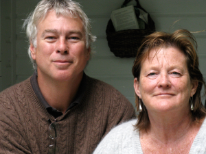 Steve Ablondi and Cindy Burns